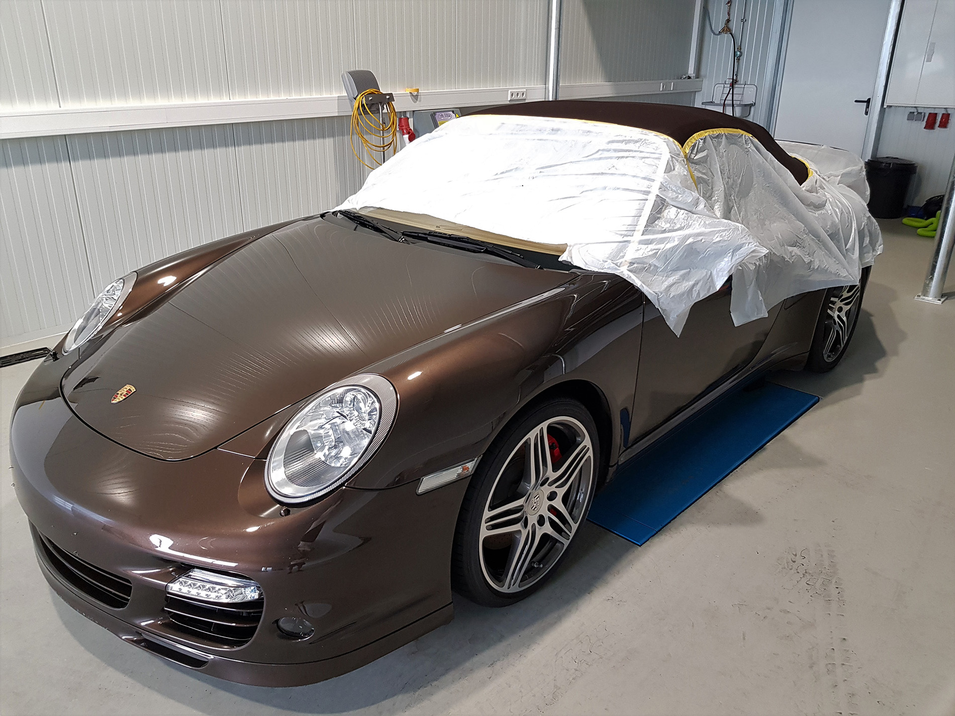 Autopflege Porsche 997 Turbo Cabrio
