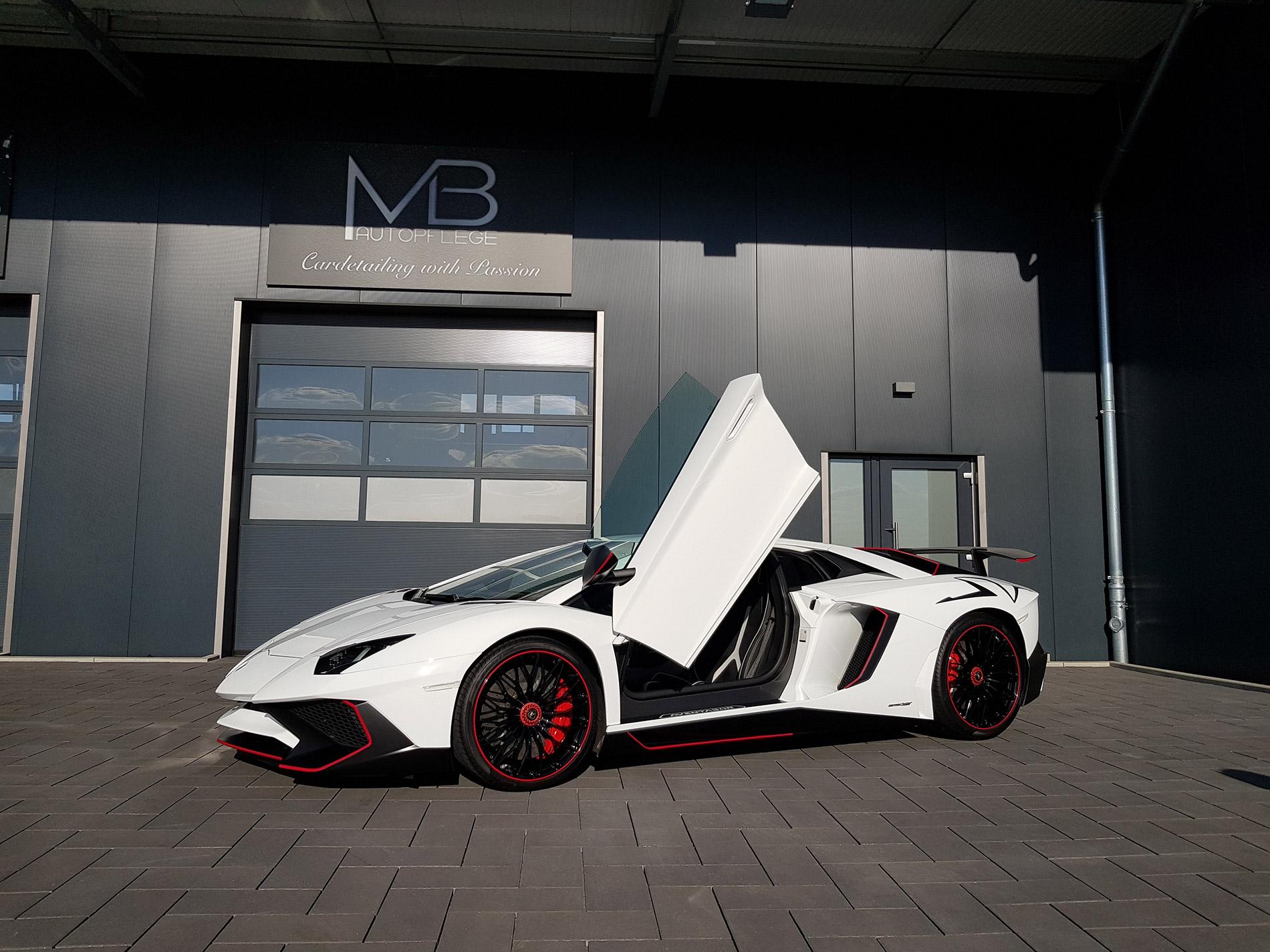 Lamborghini Aventador SV 1