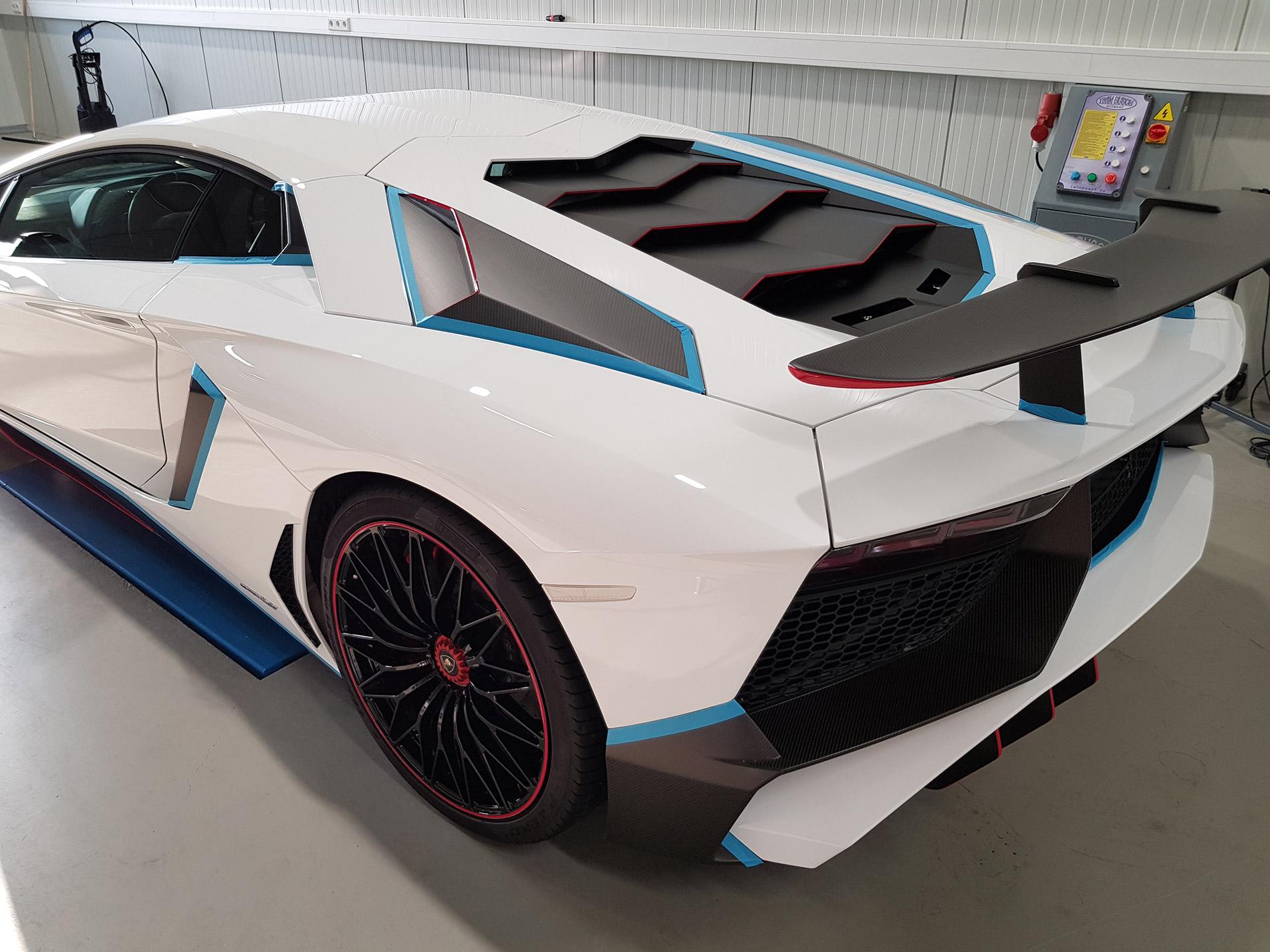 Lamborghini Aventador SV 8
